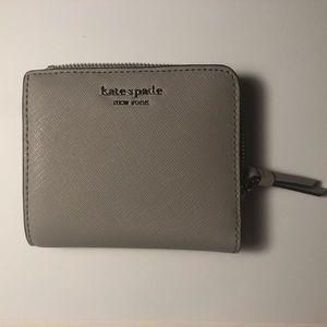 Kate Spade L-Zip Bifold Wallet Softaup Cameron